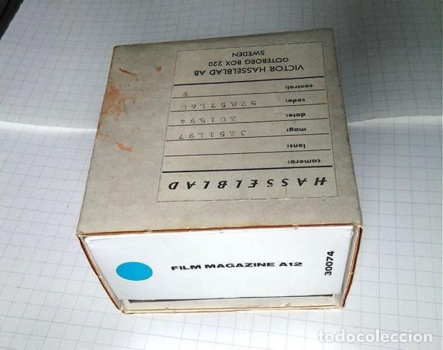 Cámara de fotos: Hasselblad box Film Magazine A12. Empty box. Solo la caja - Foto 4 - 200568732