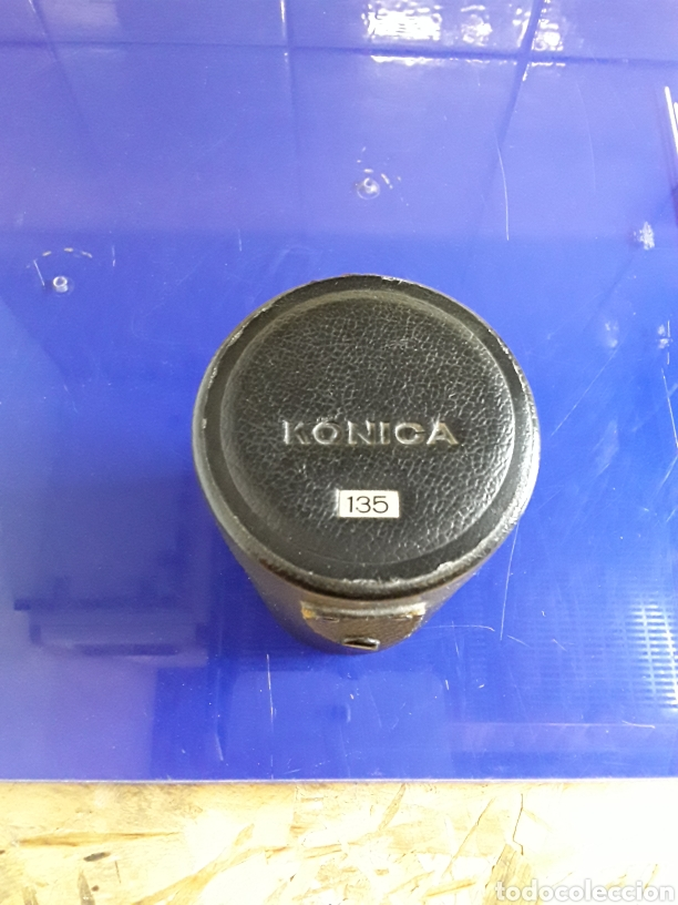 Cámara de fotos: Objetivo konica hexanon de 135 f.3.2 con funda - Foto 6 - 201291323