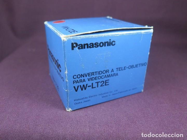 Cámara de fotos: OBJETIVO PANASONIC (CONVERTIDOR A TELE - OBJETIVO) VW-LT2E ( NUEVO ) - Foto 2 - 202270581