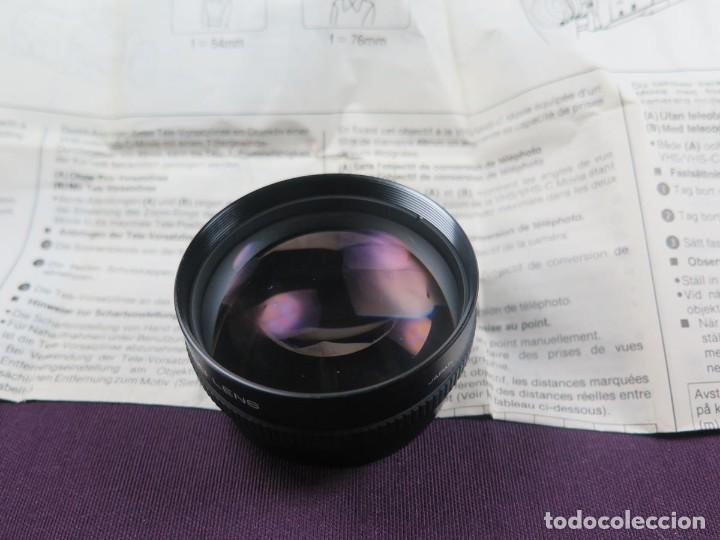 Cámara de fotos: OBJETIVO PANASONIC (CONVERTIDOR A TELE - OBJETIVO) VW-LT2E ( NUEVO ) - Foto 17 - 202270581