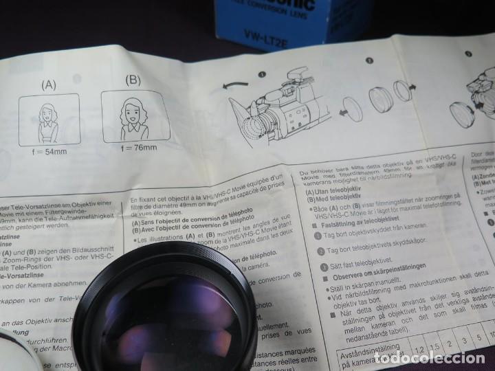 Cámara de fotos: OBJETIVO PANASONIC (CONVERTIDOR A TELE - OBJETIVO) VW-LT2E ( NUEVO ) - Foto 19 - 202270581