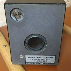 Cámara de fotos: AGFA MSC LENTE DE ZOOM MSC1-ZOOM L4.4139.600.2 F-NR.5896. Lote 202367732
