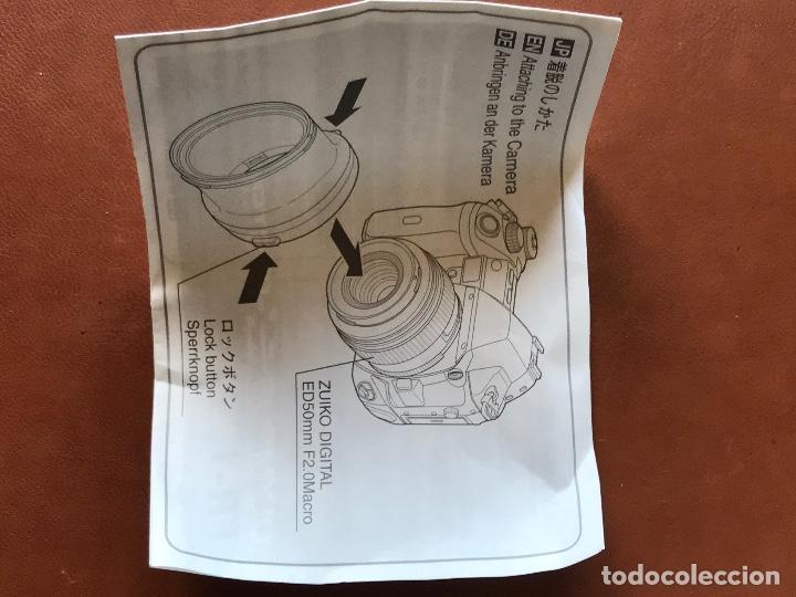 Cámara de fotos: Olympus FS-FR-1 anillo adaptador para flash. Flash Adapter Ring 9 para objetivo Zuiko Digital ED50 M - Foto 4 - 202642746