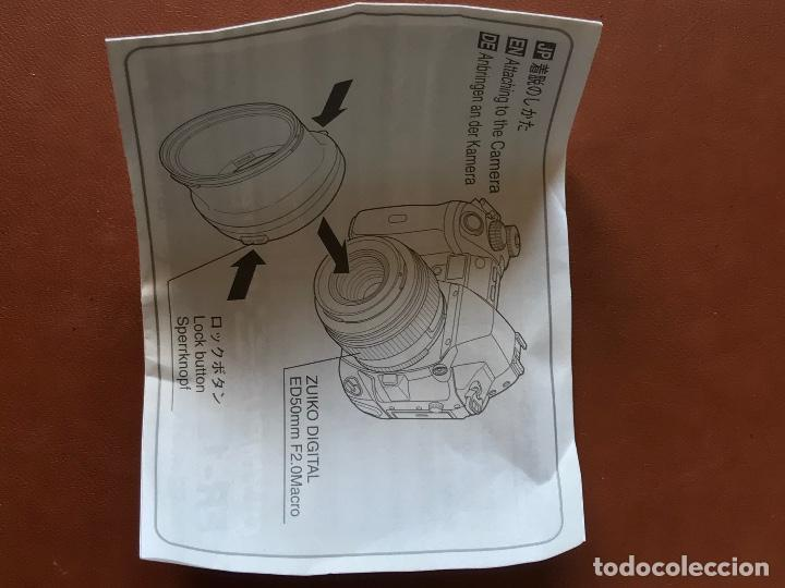 Cámara de fotos: Olympus FS-FR-1 anillo adaptador para flash. Flash Adapter Ring 9 para objetivo Zuiko Digital ED50 M - Foto 5 - 202642746