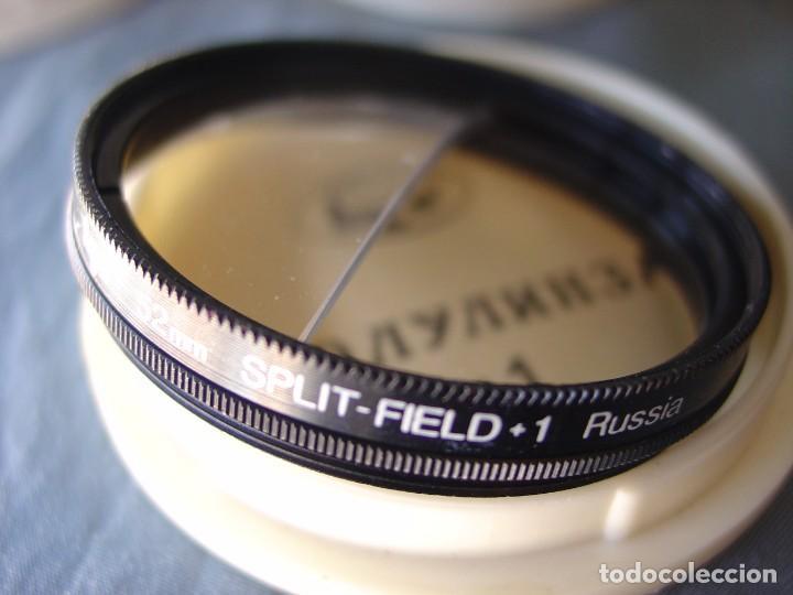 TRES FILTROS DE EFECTOS ROSCA 52 MM. (Cámaras Fotográficas Antiguas - Objetivos y Complementos )