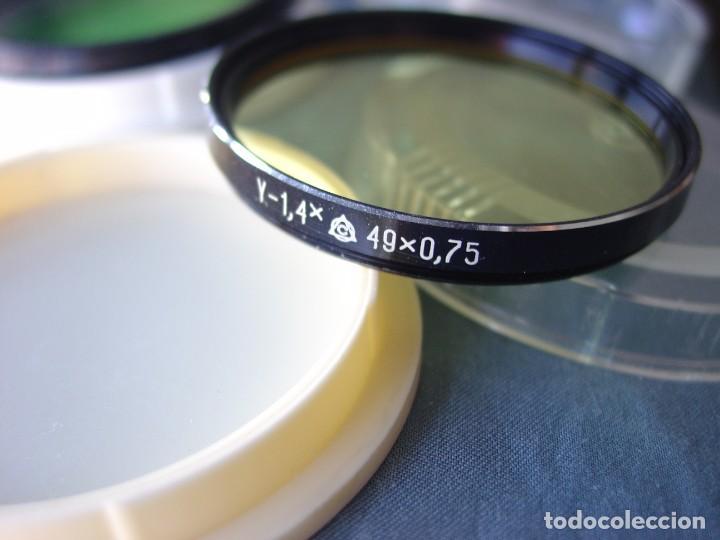 Cámara de fotos: Tres filtros para objetivos rosca 49 mm. 0,75 - Foto 2 - 202782281