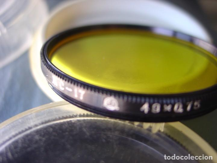 Cámara de fotos: Lote de tres filtros de colores para objetivos rosca 49mm.X0,75 - Foto 4 - 202783331