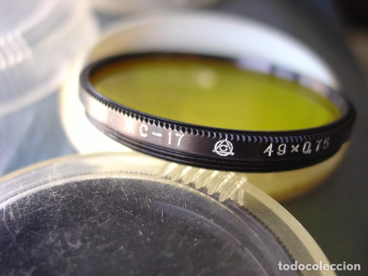 Cámara de fotos: Lote de tres filtros de colores para objetivos rosca 49mm.X0,75 - Foto 5 - 202783331