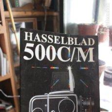 Cámara de fotos: FOLLETO HASSELBLAD 500C/M. Lote 203006796