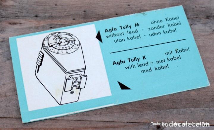 Cámara de fotos: Flash Agfa Tully de bombillas.Con Manual Instr. - Foto 5 - 203233497