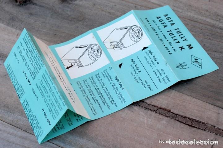 Cámara de fotos: Flash Agfa Tully de bombillas.Con Manual Instr. - Foto 6 - 203233497