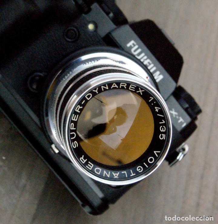 135 SUPER DYNAREX.VOIGTLÄNDER PARA CÁMARAS DIGITALES FUJIFILM (Cámaras Fotográficas Antiguas - Objetivos y Complementos )