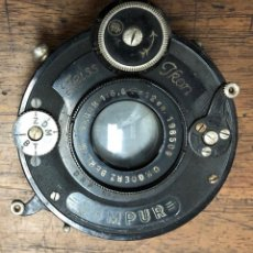Cámara de fotos: OBTURADOR COMPUR ZEISS IKON 1:6,8 F=12 CM. Lote 204131547