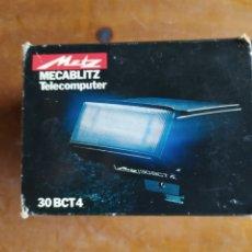 Cámara de fotos: FLASH MACABLITZ METZ 30 BCT 4. Lote 204239500