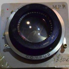 Cámara de fotos: SCHNEIDER XENAR 180 F/ 4,5, COMPUR.GRAN FORMATO. Lote 204778292