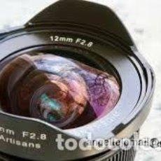 Cámara de fotos: 12 MM WIDE ANGLE. GRAN ANGULO. 7ARTISANS FUJI FX NUEVO A ESTRENAR. Lote 205126885