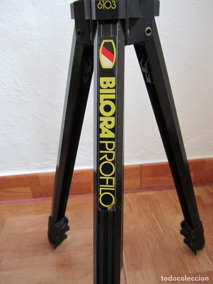 TRÍPODE PROFESIONAL BILORA-PROFILO 6103 (VER DESCRIPCIÓN) (Cámaras Fotográficas Antiguas - Objetivos y Complementos )