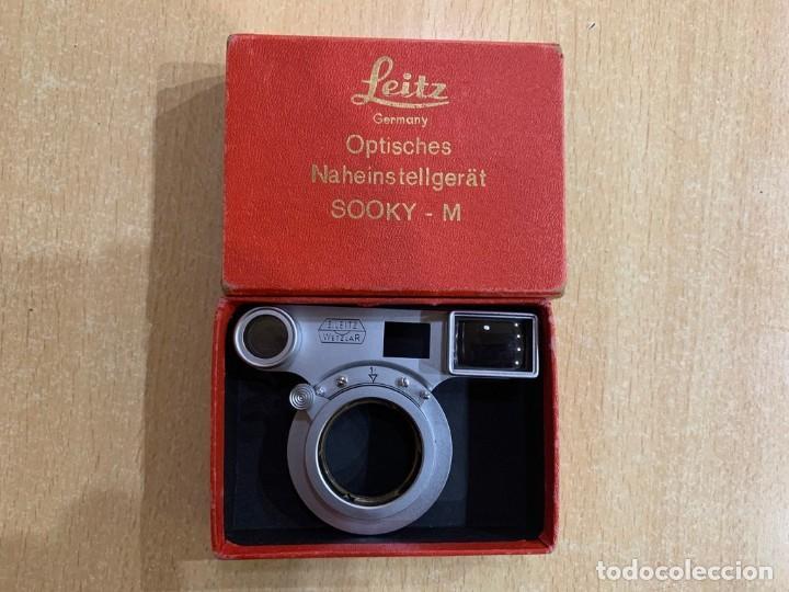 LEITZ LEICA SOOKY-M SUMMICRON MACRO (Cámaras Fotográficas Antiguas - Objetivos y Complementos )