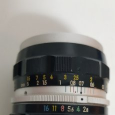Cámara de fotos: NIKKOR-S AUTO 1:28 F=35MM NIPPON KOGAKU. Lote 205362130