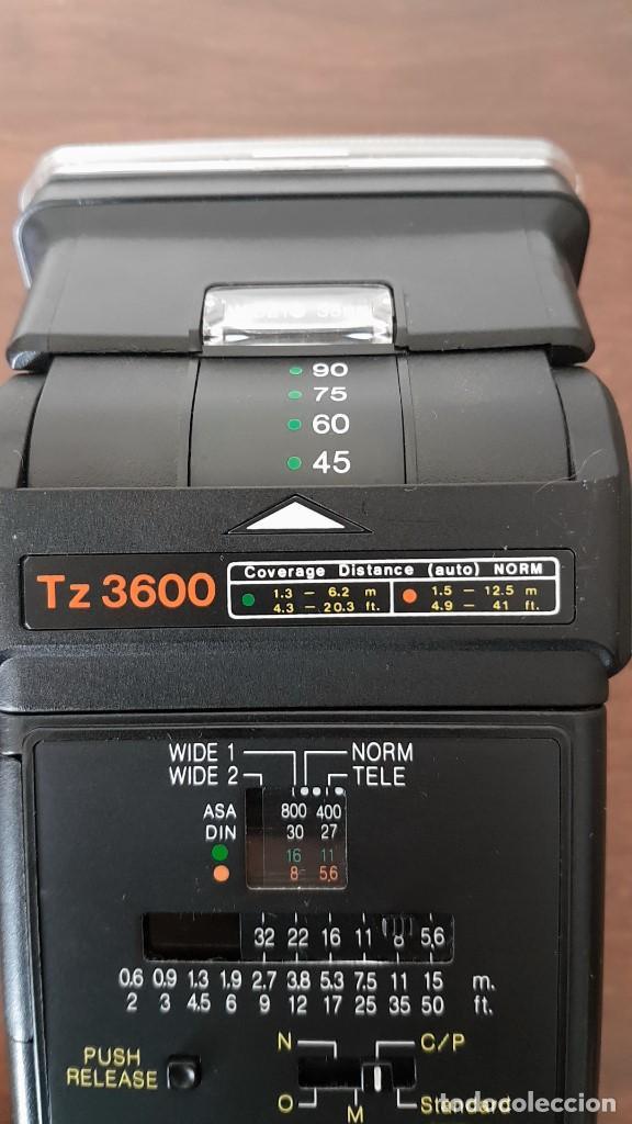Cámara de fotos: ANTIGUO FLASH HANIMEX TZ 3600, MADE IN JAPAN, ALTA GAMA, FUNCIONA, MIRAR FOTOS, TAL CUAL SE VE. - Foto 11 - 205789980