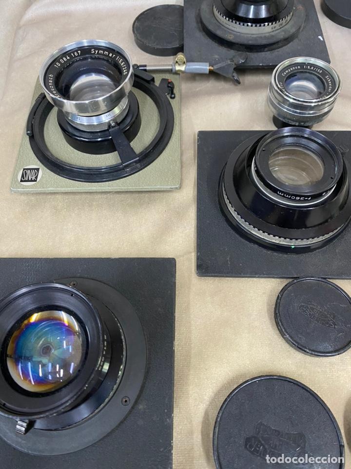 Cámara de fotos: Conjunto de objetivos camara SINAR. 11 unidades - Foto 3 - 207304531