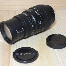Cámara de fotos: SIGMA 70-300MM D 1:4-5.6. Lote 207602190
