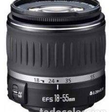 Cámara de fotos: OBJETIVO CANON EOS EF-S 18-55 F/3,5-5,6. Lote 208147847