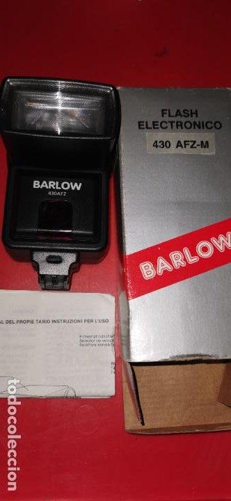 FLASH ELECTRONIC BARLOW 430 AFZ-M NUEVO A ESTRENAR (Cámaras Fotográficas Antiguas - Objetivos y Complementos )