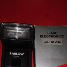 Cámara de fotos: FLASH ELECTRONIC BARLOW 430 AFZ-M NUEVO A ESTRENAR. Lote 208168090