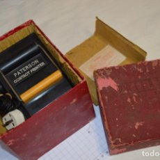 Fotocamere: PATERSON CONTACT PRINTER / MUY ANTIGUO, VINTAGE - MADE IN ENGLAND - ¡MIRA FOTOS Y DETALLES!. Lote 209570166