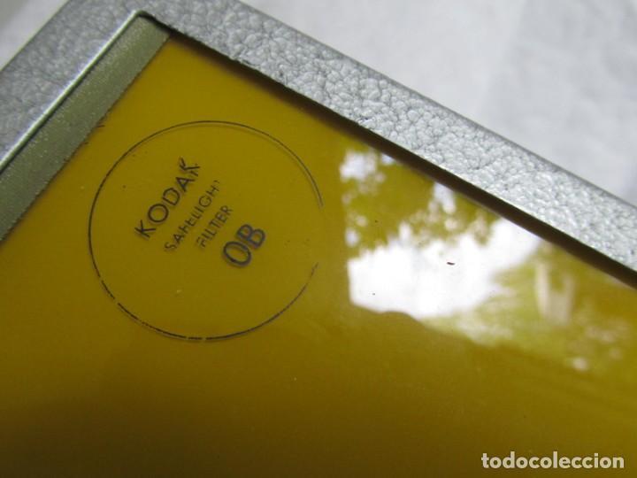 Cámara de fotos: Lámpara hierro galvanizado de filtro fotográfico Kodak Shafelight, funcionando - Foto 3 - 209629575