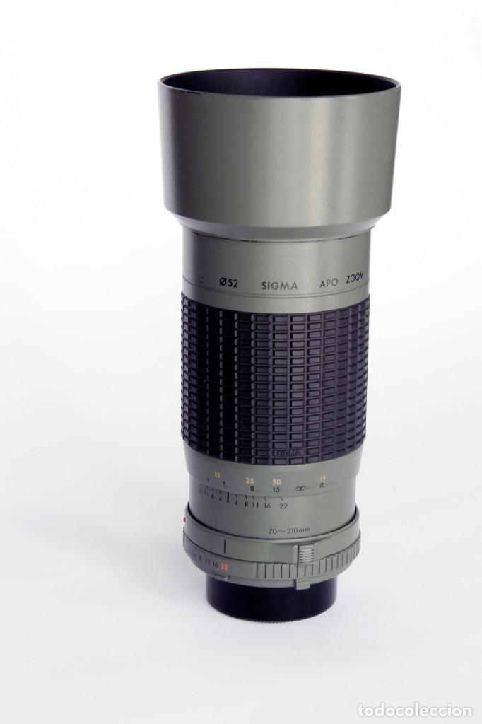 Cámara de fotos: SIGMA APO ZOOM MULTI COATED 1:3.5-4.5 f 70-210mm MINOLTA. Para SONY Alpha - Foto 3 - 209709995