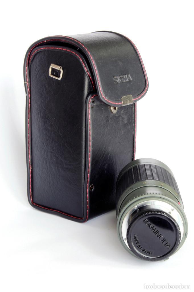 Cámara de fotos: SIGMA APO ZOOM MULTI COATED 1:3.5-4.5 f 70-210mm MINOLTA. Para SONY Alpha - Foto 4 - 209709995