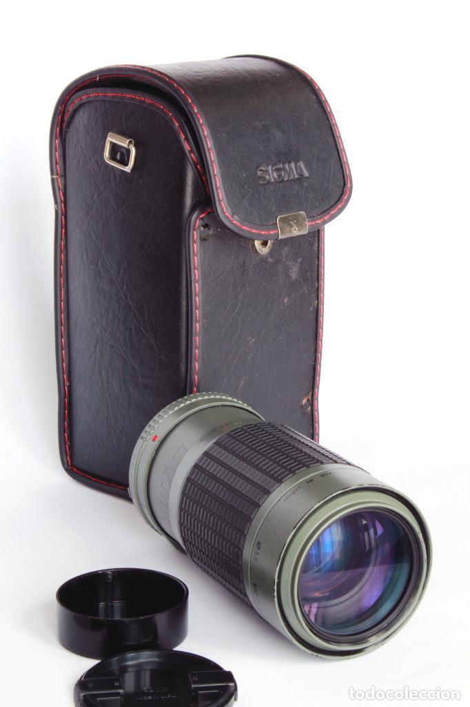 Cámara de fotos: SIGMA APO ZOOM MULTI COATED 1:3.5-4.5 f 70-210mm MINOLTA. Para SONY Alpha - Foto 5 - 209709995