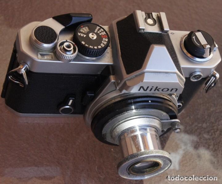 ANILLO ADAPTADOR PARA HACER MACRO MONTURA NIKON (Cámaras Fotográficas Antiguas - Objetivos y Complementos )
