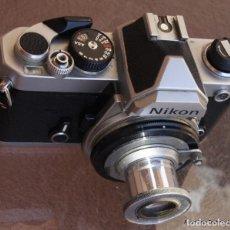 Cámara de fotos: ANILLO ADAPTADOR PARA HACER MACRO MONTURA NIKON. Lote 209877885