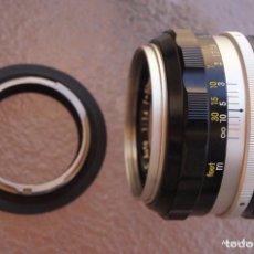 Cámara de fotos: ANILLO INVERSOR MACRO DE YASHICA-CONTAX MOUNT A LENTES DE 55 MM DE FRONTAL FILTRO.. Lote 209878006