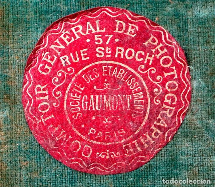 Cámara de fotos: ESTUCHE MALETÍN CUERO ELGE-GAUMONT 1895 PARA CÁMARAS DE PLACA O CRONOFOTOGRAFÍA. - Foto 7 - 209924042