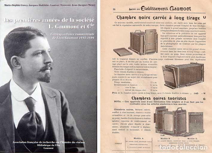 Cámara de fotos: ESTUCHE MALETÍN CUERO ELGE-GAUMONT 1895 PARA CÁMARAS DE PLACA O CRONOFOTOGRAFÍA. - Foto 8 - 209924042