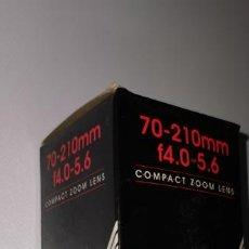 Cámara de fotos: OBJETIVO CENTON PARA OLYMPUS 70-210MM F4.0-5,6 NUEVO. Lote 210519568