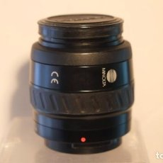 Cámara de fotos: OBJETIBO MINOLTA 35-70 A.F ZOOM TAPAS Y FILTRO SKY SEGUNDA MANO. Lote 211557375