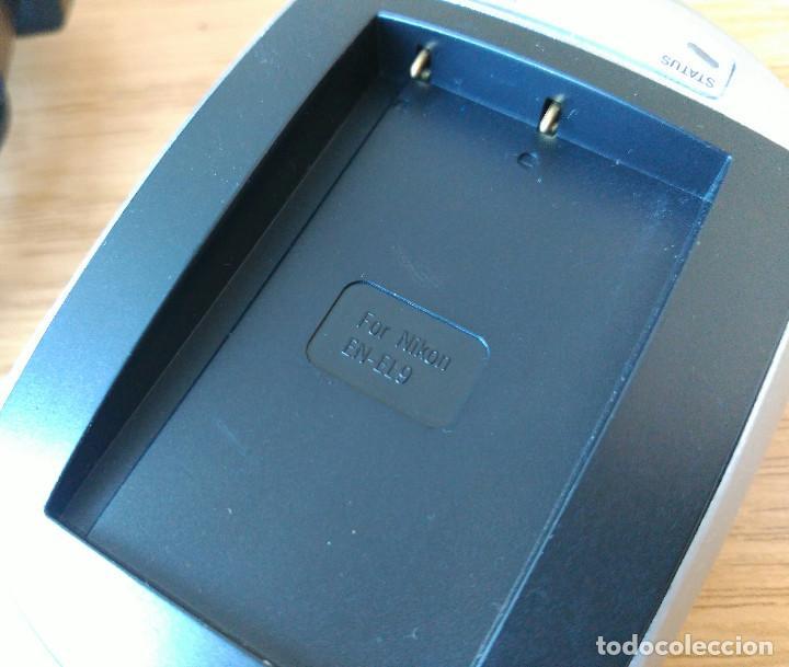 Cámara de fotos: cargador de batería NIKON tipo EN-EL9 - Foto 2 - 211862545