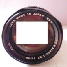 Cámara de fotos: OBJETIVO RICOH 135MM. Lote 212502826