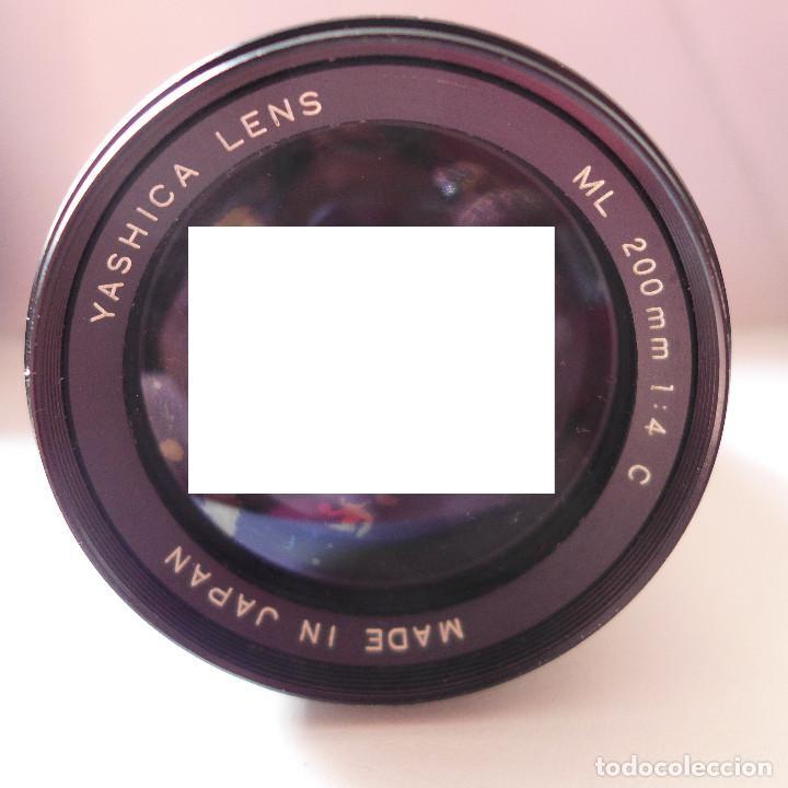 OBJETIVO YASHICA 200MM (Cámaras Fotográficas Antiguas - Objetivos y Complementos )