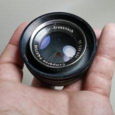 Cámara de fotos: OBJETIVO SCHNEIDER COMPARON 135MM F4.5. Lote 212789537