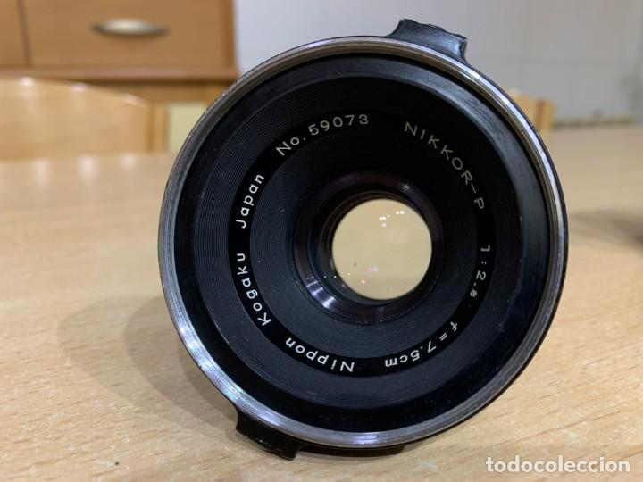Cámara de fotos: Nikon Nikkor P 75mm 2.8 para cámaras Zenza Bronica C / S2 / EC-TL - Foto 2 - 213017477