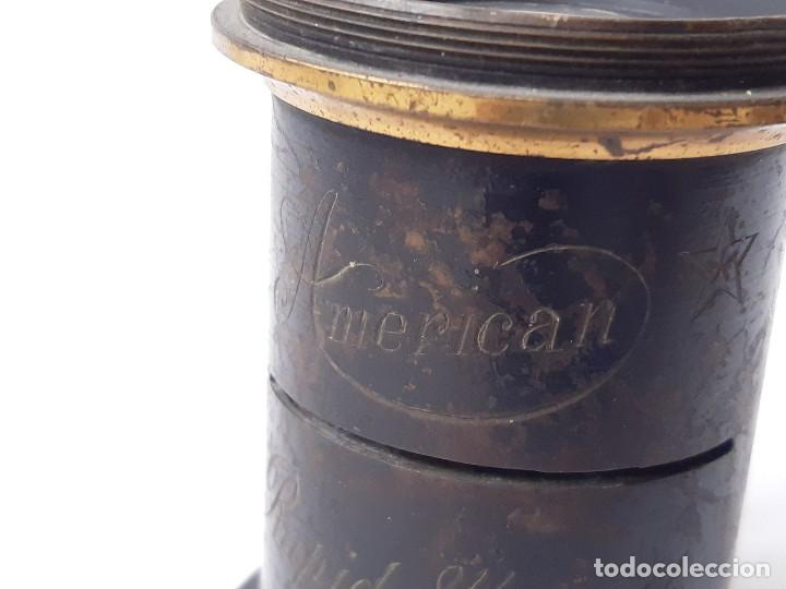 Cámara de fotos: Objetivo de cámara fotográfica. American Rapid 8 ½ x 6 ½. - Foto 5 - 213221441