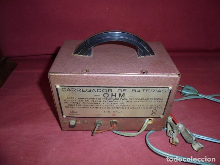 Cámara de fotos: magnifico antiguo cargador de bateria de flahs,de la marca OHM - Foto 7 - 213458386