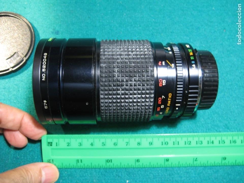 TELEOBJETIVO F 28-200 CÁMARAS (Cámaras Fotográficas Antiguas - Objetivos y Complementos )