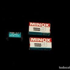 Appareil photos: ROLLOS FOTOGRÁFICOS DE MINOX PASADOS. Lote 215307616